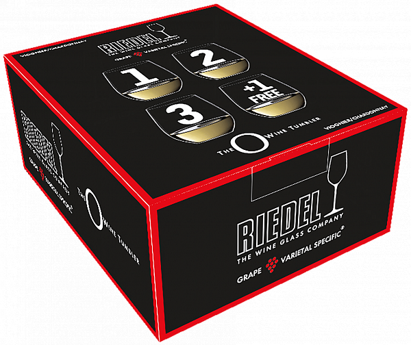 "Riedel ""O"" Viognier ""Buy 3 Get 4"" (4 glasses set)"