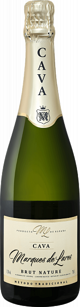 Marques de Lares Brut Nature Cava DO Lopez Morenas,  0.75л
