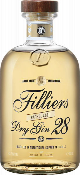Filliers Dry Gin 28 Barrel Aged,  0.5л