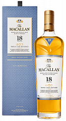 The Macallan Triple Cask Matured 18 y.o. Highland single malt scotch whisky (gift box),  0.7л